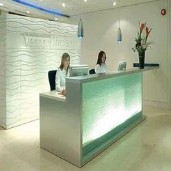 Reception Interior Designer Service