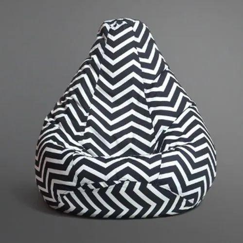 Bear Teddy Multicolor Zeebro Design Cotton Bean Bag, Size: XXL, Packaging Type: Box