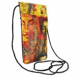 Canvas Cotton Mobile Pouch Sling Bag