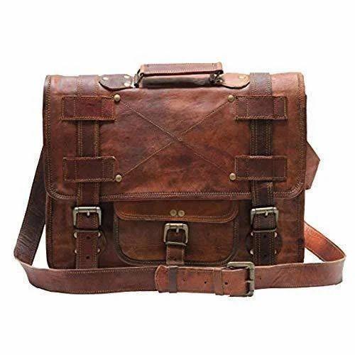c90788dac45c Mens Vintage Leather Laptop Bag