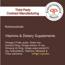 Vitamins & Dietary Supplements Tablets & Softgels for Commercial