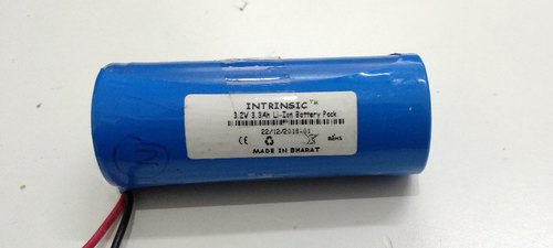 Intrinsic 3.2 V 3.3 Ah Lithium Iron Phosphate Battery, Model ...
