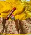 Fancy Cotton Ladies Indian Wear Saree