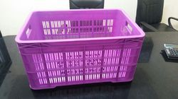 Purple Plastic Fruit Crates, Capacity: 10 - 20 Kg