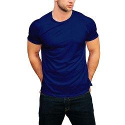 Cotton Half Sleeve Svaraati Men's T Shirts, Size: Medium