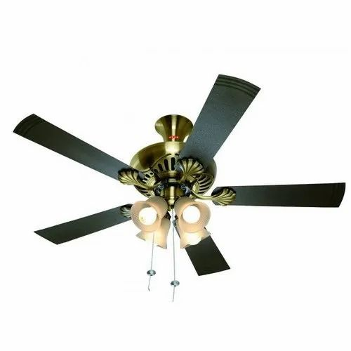 USHA Antique Brass Ceiling Fans