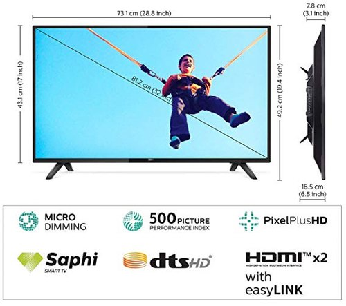 Philips 32inch Smart Led Hd Tv