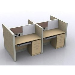 Wooden Orgowood Modular Office Workstation, for Corporate Office
