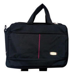 Sofi Bags Plain Black Office Bag