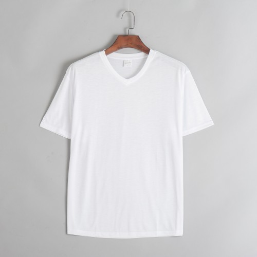 74dc44cd154 White Men  s V- Neck T- Shirts