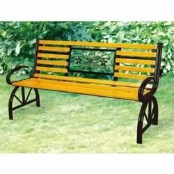 Mild Steel Garden Outdoor Bench