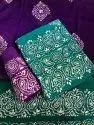 Wax Batik Salwar Suit