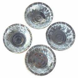 Laminated Silver Paper Bowl
