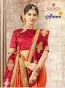 Aasma Hits By Kalista Fashion Embroidery Work Fashionable Saree