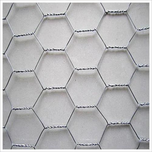 SS304 Hexagonal Wire Mesh, Thickness: 1-2 Mm