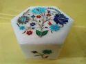 Designer Stone Inlay Jewelry Box