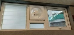 Glossy Upvc Ventilator Window, For Bathroom