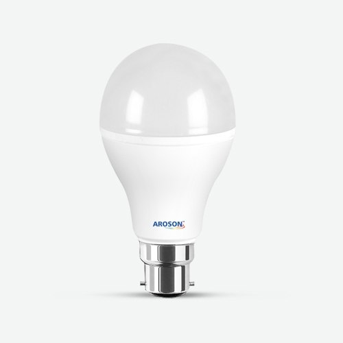 9 W Aroson 9 Watt LED Bulb, Input Voltage: 230 V, 0.98