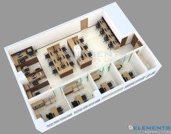 Interior Designing and Planning, Size: Above 2000 Sft, Turnkey Office Interior