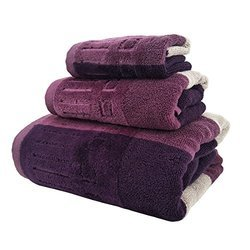 Jacquard Dark Color Towels
