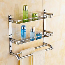 Bathroom Corner Shelf At Rs 950 Piece Shelves Shivam Steel Rajkot Id 19046493455
