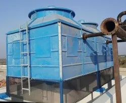 Counter Flow FRP Induced Water Cooling Tower, For Industrial, Square