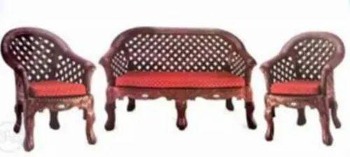 Nilkamal Luxury Fabric Plastic Sofa Set