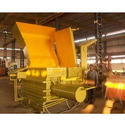 Triple Action Hydraulic Scrap Baling Press Machine