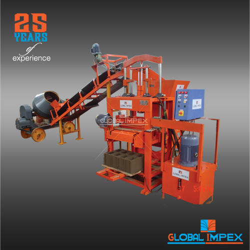 Eco Brick Making Machine With Conveyor