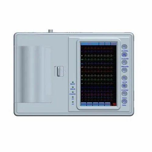 12 Channel ECG Machine, CMRR : >80 DB