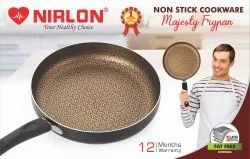 Nirlon Majesty Non-Stick Aluminium Pots & Pan Kitchen Utensil Frying Pan 1.8 Liter with Handle