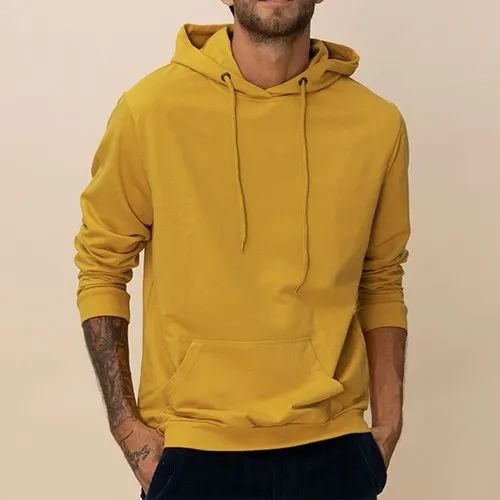 Plain Full Sleeves 100% Premium Cotton Hoodie for Men and Women - 300 GSM,  Rs 500 /piece | ID: 20900157588