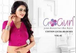 VOL 02 Lycra Cotton Blouses