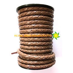 Braided Leather Cord -Khadi Braided Leather