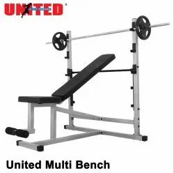 Multi Bench with Leg Curl & Extension