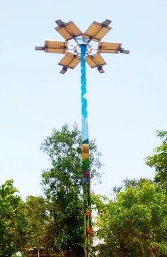 18 Watt Solar High-Mast Lighting System