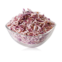 25 Kg White And Red Dehydrated Onion Flakes, Packaging: Plastic Bag