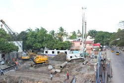 Pile Foundation Work For Hydraulic Rig