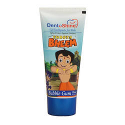 Bubble Gum Kids Toothpaste Under Contract Manufacturing