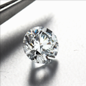 1.03ct Lab Grown Diamond CVD E VVS2 Round Brilliant Cut IGI Certified Stone