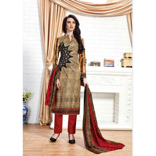 1e054f1223 Cotton Party Wear Suryajyoti Ladies Fancy Churidar Suit, Rs 150 ...