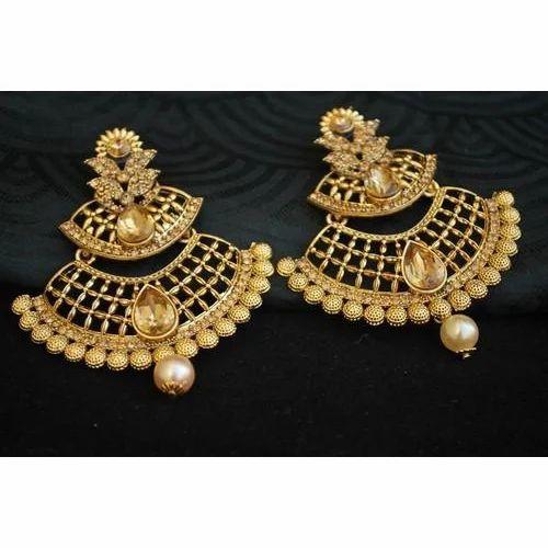 Artificial Gold Earrings