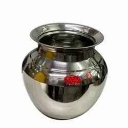 202 Stainless Steel Lota, Size: 3