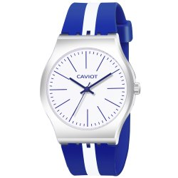 Caviot Violet Round Analog Sports Watch for Boys and Girls - CK003