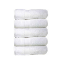 White Bath Cotton Towels