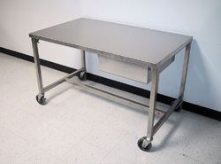 Wooden , Metal L Shape And Square Work Tables, Warranty: 1 Year