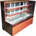 Ryan Rectangular Ss Sweet Display Counter, 2-3kw