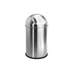 Stainless Steel Push Can Bins