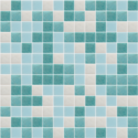 Blue Random Mix Swimming Pool Tile