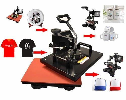 Semi-Automatic 10 In 1 Combo Heat Press Machine, 350w